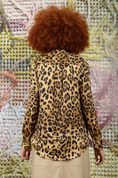 Blouse in leopard print  image
