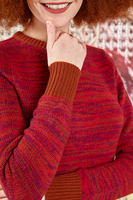 Cashmere cropped sweater  image