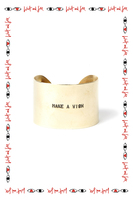 Make a wish cuff image