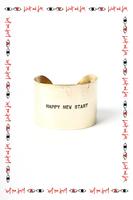 Happy new start cuff image