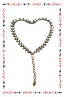 Crystal drop necklace  image