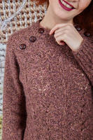 Sweater with buttons   image