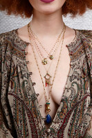 Necklace with clover medallion  image