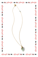 Long necklace with hand pendant  image