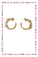 Lion hoop earrings  image