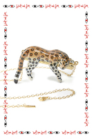 Necklace with leopard  image