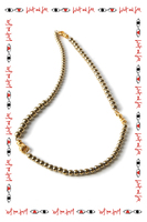 Long necklace with beads  image