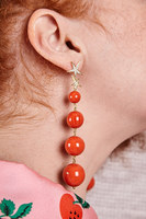 Drop earrings with stars image