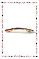 Burgundy hair clip  image