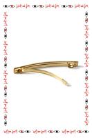 Khaki green hair clip  image