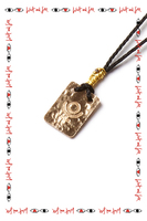 Necklace with Pluto symbol  image