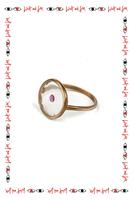 Ruby Resin Ring  image