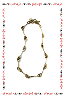 Ring and Bar Necklace  image