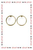 Circular earrings image
