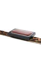 Leopard Print Slim Belt  image