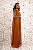 Voluminous long dress  image