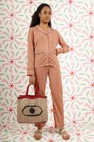 Pyjama set in floral print  image