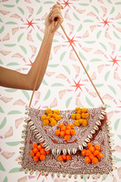 Embellished Clutch with Shells image