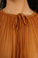 Cinnamon floor length cape  image