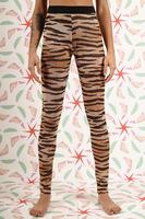 Leggings in tiger print  image