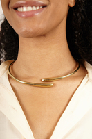 Sculptural Choker Necklace image