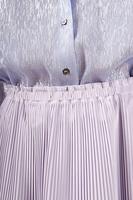 Midi skirt with fine pleats  image