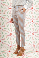 Striped tailored pants image
