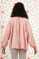 Voluminous blouse with long sleeves  image
