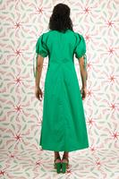 Emerald midi dress  image