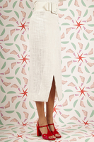 Pencil skirt with belt image