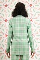 Mint Plaid Suit  image