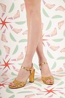 Metallic Gold Sandals  image