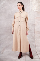 Overcoat with statement pockets  image