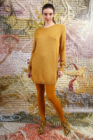 Long sweater with lurex  image