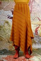 Asymmetrical knit skirt  image