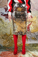 Sequin pencil skirt  image