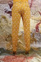 Tailored pants in swirl print  image