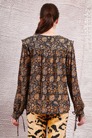 Blouse in paisley print  image