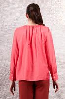 Blouse with shoulder tucks  image