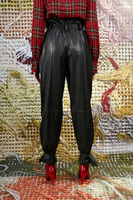 Black Pants in Faux Leather image