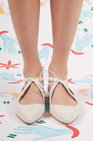 Leather Flats with Pointy Toes  image