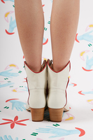 Ivory Western Boots image