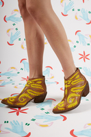 Baroque Embroidered Ankle Boots  image