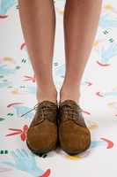 Suede and Leather Brogues image